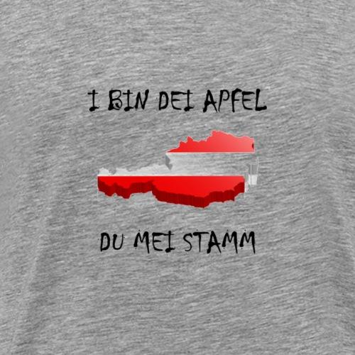 I bin dei Apfel - Männer Premium T-Shirt