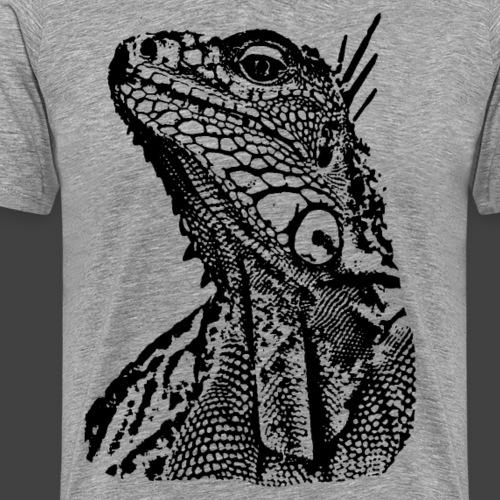 LIZARD1 - BLACK - Men's Premium T-Shirt