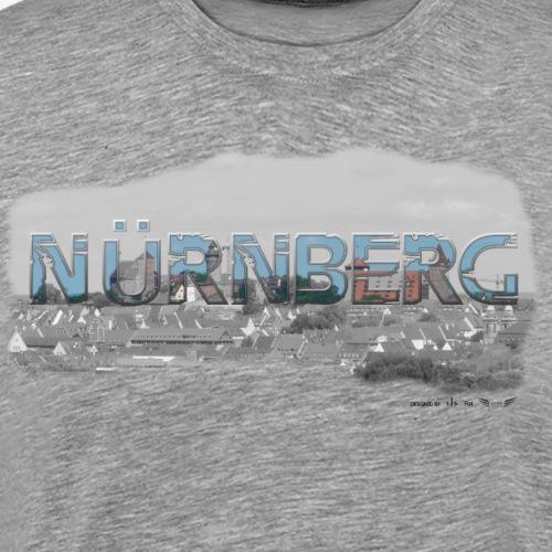 Nürnberg von Lieblingsregion (Skyline) - Männer Premium T-Shirt