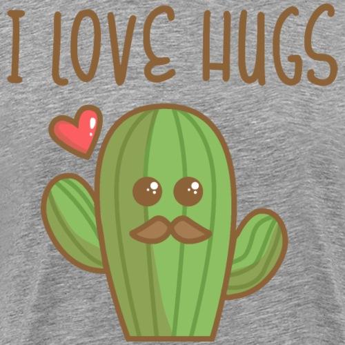 Cactus Hugs - T-shirt Premium Homme