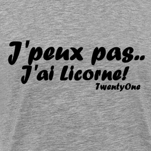 21-LICORNE - T-shirt Premium Homme