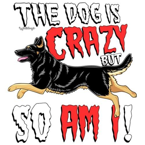 German Shepherd Crazy 4 - Miesten premium t-paita