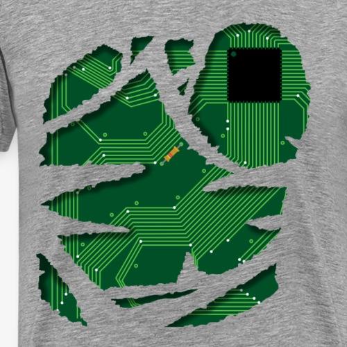 Stromkreis / Strom / Schaltplan / Technik Shirt - Männer Premium T-Shirt