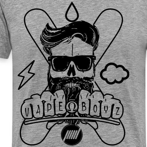 Beard Vape - Maglietta Premium da uomo