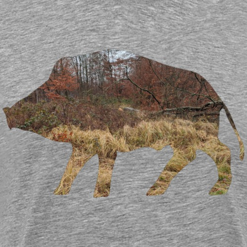 Wildsau-Shirt für Jäger/innen - Männer Premium T-Shirt