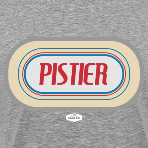 T-SHIRT PISTIER - Mannen Premium T-shirt