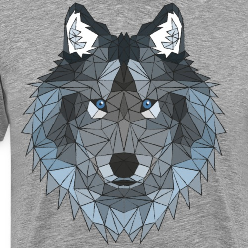 Poly Wolf - Men's Premium T-Shirt