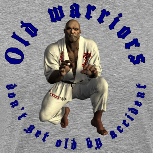 Jiu-Jitsu Old Warrior - Men's Premium T-Shirt