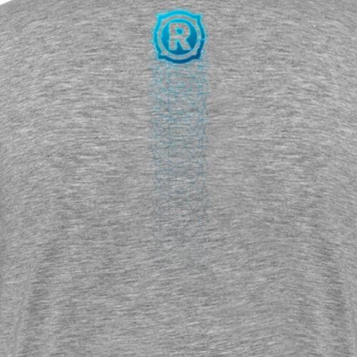 RyedTV Fadeaway Blue - Männer Premium T-Shirt