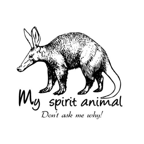 L'Oryctérope est mon animal totem. - T-shirt Premium Homme