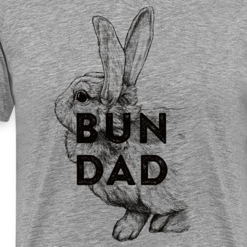 Bun Dad - Männer Premium T-Shirt