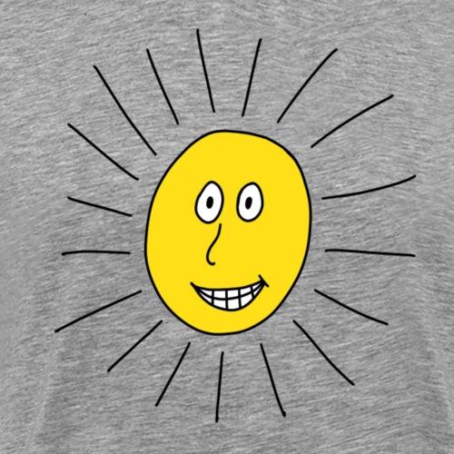 strahlende Sonne - Männer Premium T-Shirt