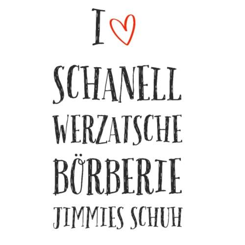 I love Schanell: das Modeshirt für Markenaffine - Männer Premium T-Shirt