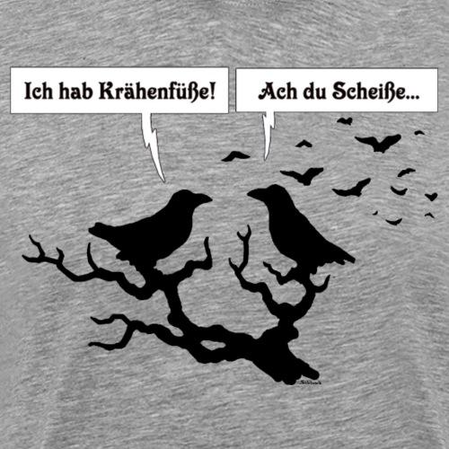 Kraehenfüße - Männer Premium T-Shirt