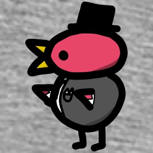 Fancy Pinkguin - Herre premium T-shirt