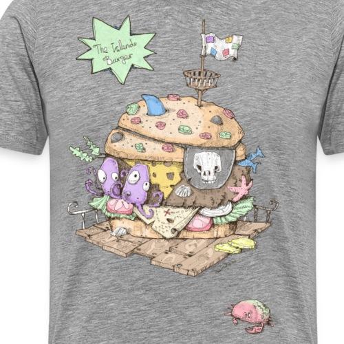 The Island Burger - Männer Premium T-Shirt