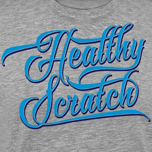 healthy_scratch_vectorize - Men's Premium T-Shirt