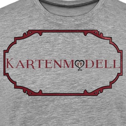 Kartenmodell im Rahmen - Männer Premium T-Shirt