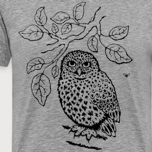 Steinkauz im Apfelbaum - Männer Premium T-Shirt