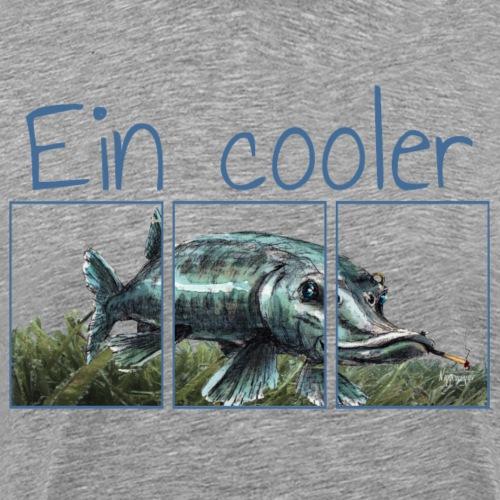 Ein cooler Hecht... - Männer Premium T-Shirt
