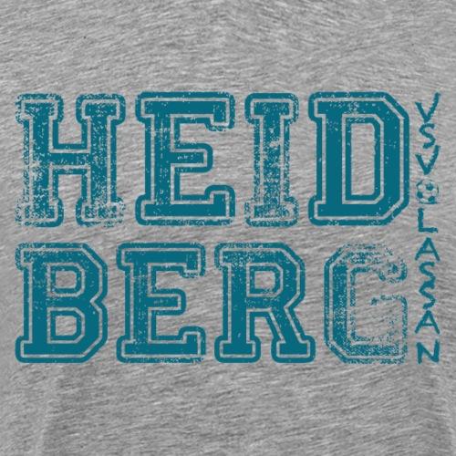 Heidberg VSV Lassan FANMOTIV BLAU - Männer Premium T-Shirt