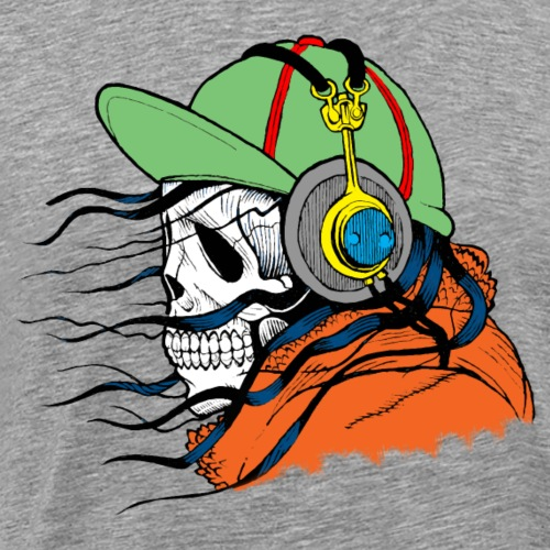 DJ ghost - Männer Premium T-Shirt