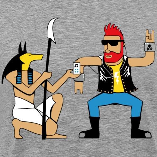 Anubis punk dance - T-shirt Premium Homme