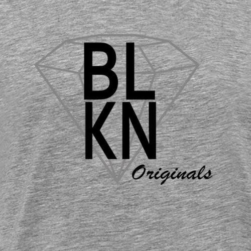 BLKN LOGO - Männer Premium T-Shirt