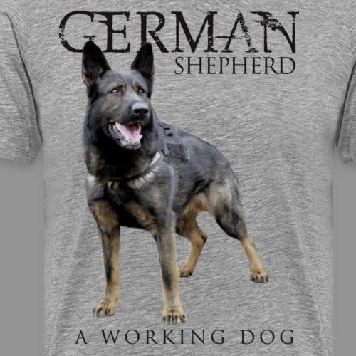 German Shepherd Dog - Men's Premium T-Shirt
