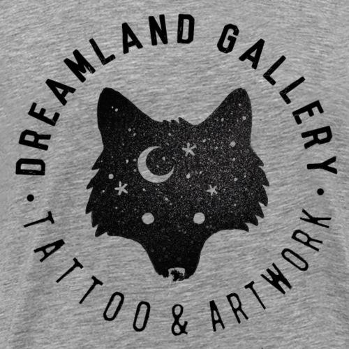 wolf stamp black - Männer Premium T-Shirt