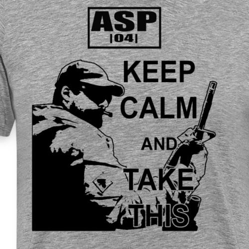 Keep Calm 04 - T-shirt Premium Homme