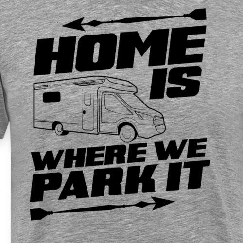 Camper Camping Campen Geschenk Wohnwagen Spruch - Männer Premium T-Shirt