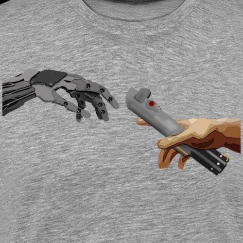 Handed Over - Men's Premium T-Shirt