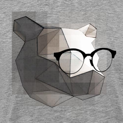 L'ours philosophe. - T-shirt Premium Homme