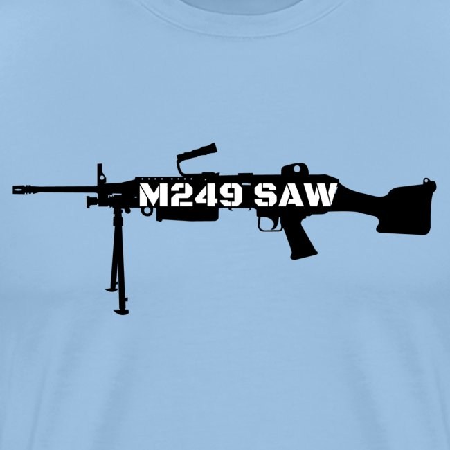 M249 SAW light machinegun design