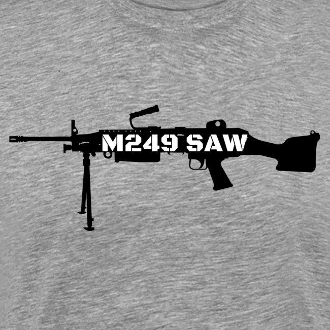 M249 SAW light machinegun design