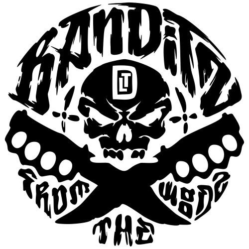 Bandits_Logo_TLD - Männer Premium T-Shirt