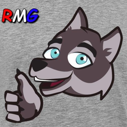 RedMun Nice with Colour Logo - Men's Premium T-Shirt