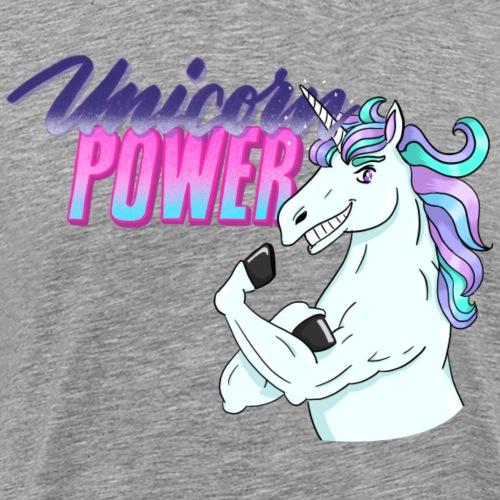 Unicorn Power - Männer Premium T-Shirt