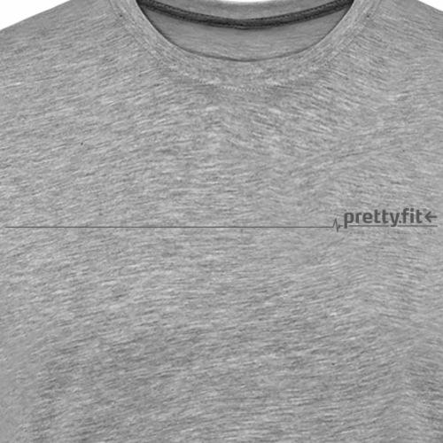 pretty.fit® grau - Männer Premium T-Shirt