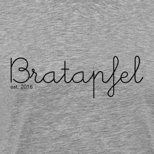 Bratapfel Writing - Männer Premium T-Shirt