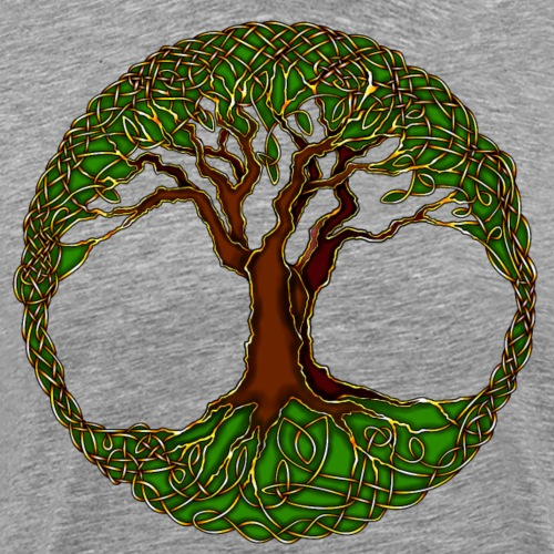 Tree of Life - colour - Men's Premium T-Shirt