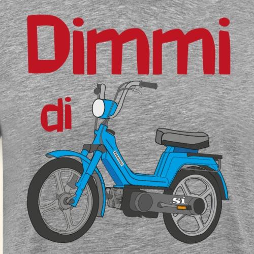 DimmidiSI blue - Maglietta Premium da uomo