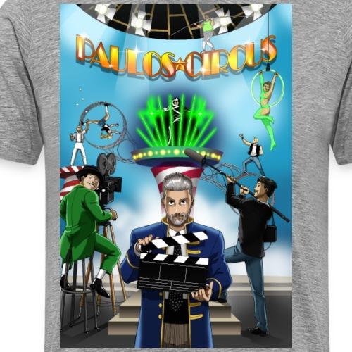 Paulos Circus Movie Set Poster - Men's Premium T-Shirt