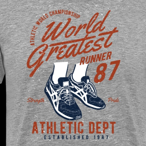 World Greatest Runner - Männer Premium T-Shirt