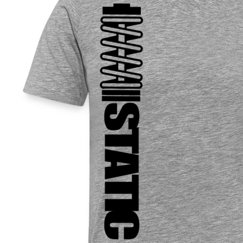 Static - T-shirt Premium Homme