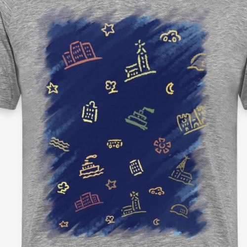 Sthlm Tub By TheRawburt - Premium-T-shirt herr