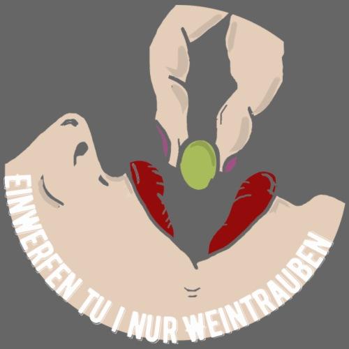 einwerfentuinurweintrauben - Männer Premium T-Shirt