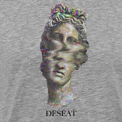 ÐĒŠĒÀŤ GLITCH - Herre premium T-shirt