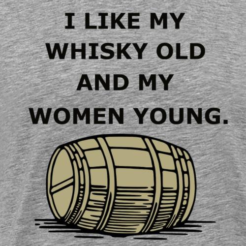 Whiskey / whiskey saying gift idea - Men's Premium T-Shirt
